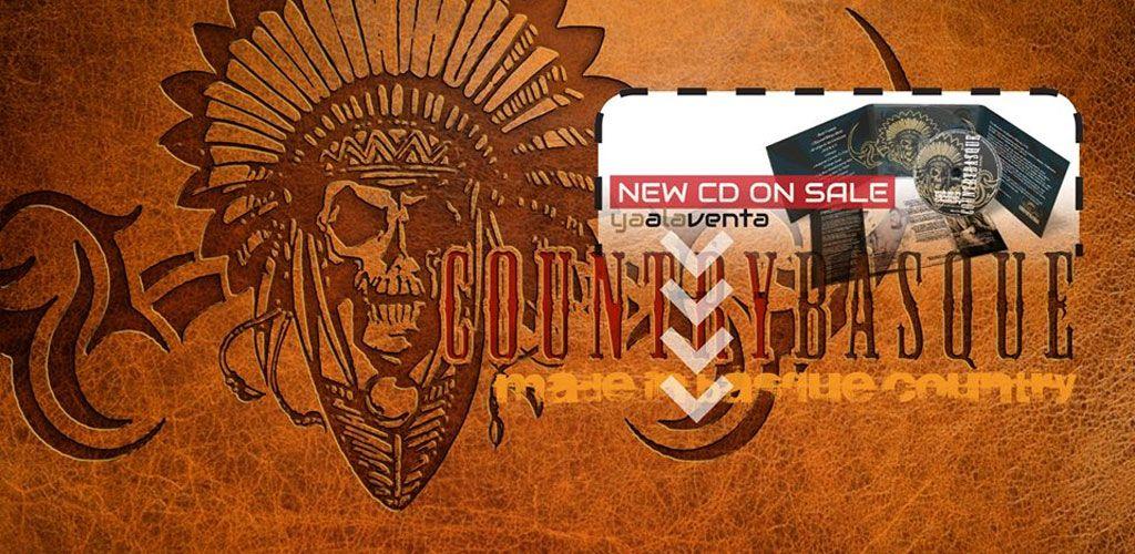 Portada del nuevo disco de Countrybasque