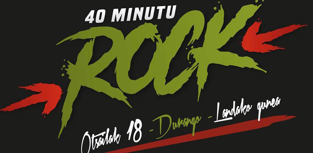 Cartel del 40 Minutu Rock 2017