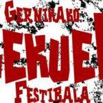 El Gernikako Lekuek Festibala da forma a su cartel