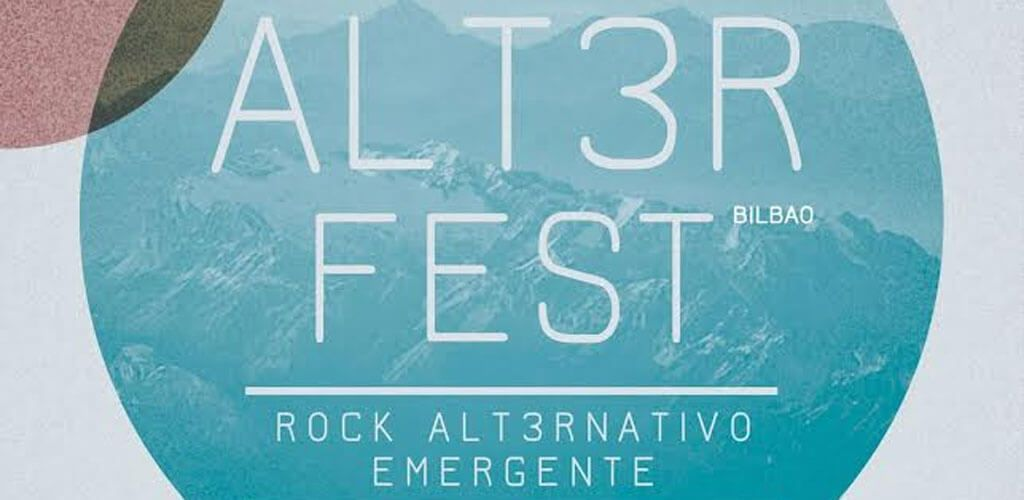 Cartel del I ALT3R FEST
