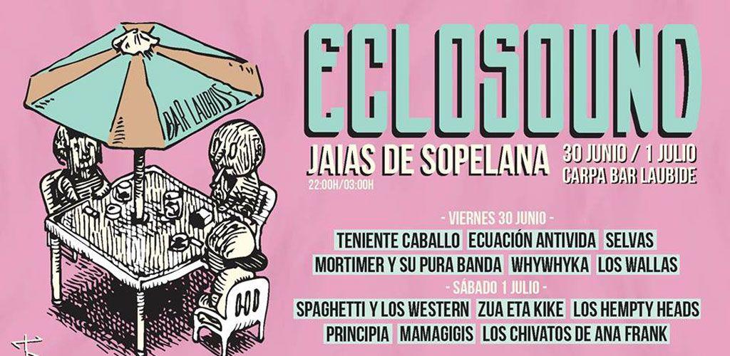 Cartel del Festival Eclosound