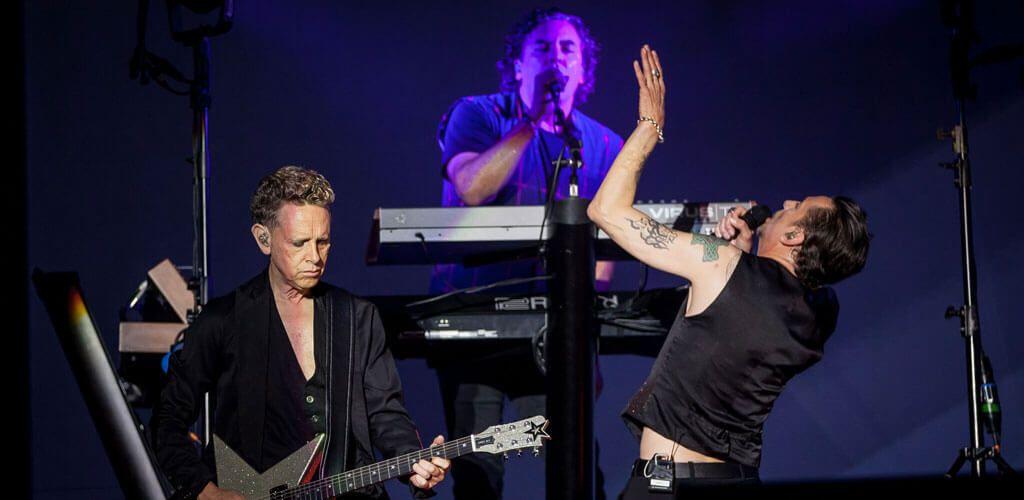 Depeche Mode en el BBK Live 2017 (Foto: Tom Hagen)