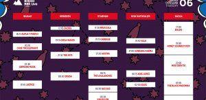 Cartel del jueves 6 de julio en el Bilbao BBK Live 2017
