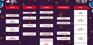Cartel del viernes 7 de julio en el Bilbao BBK Live 2017