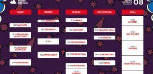 Cartel del sábado 8 de julio en el Bilbao BBK Live 2017