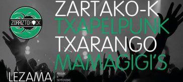 Cartel del I ZorriztoRock