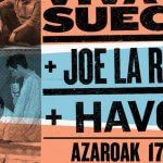 Music Explorers on Tour recala en el Bilbao con Viva Suecia, Joe la Reina y Havoc