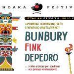 Bunbury, Depedro y Fink primeras confirmaciones para el Mundaka Festival