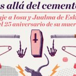 Homenaje a Iosu y Jualma de Eskorbuto en Santana 27
