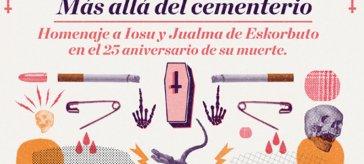 Cartel del homenaje a Iosu y Jualma de Eskorbuto