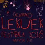 Quinta edición del Gernikako Lekuek