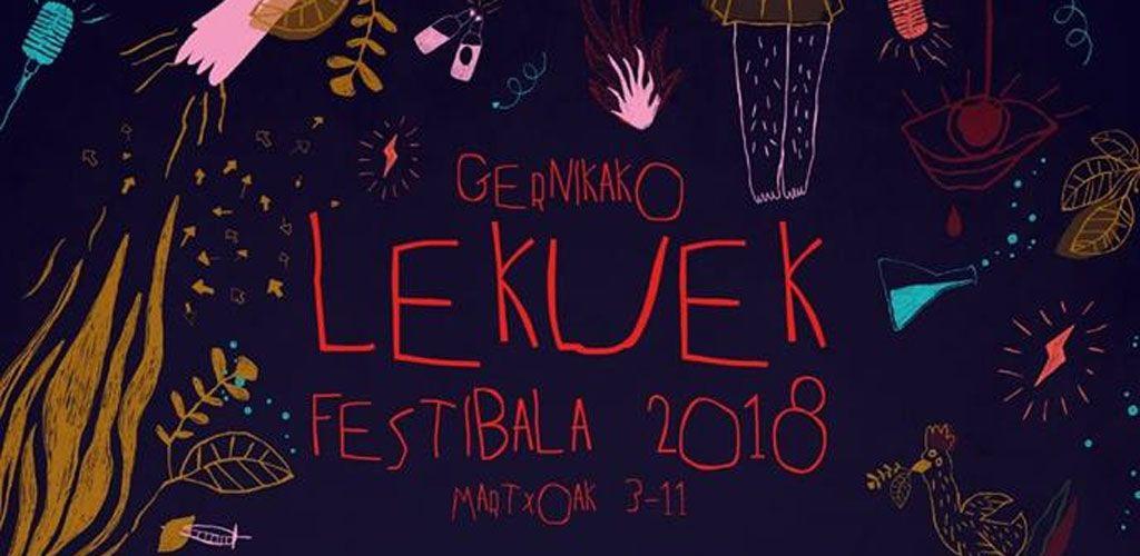 Cartel del Gernikako Lekuek Festibala
