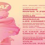 Sidonie, La Casa Azul, Novedades Carminha y Willis Drummond encabezan el MAZ Basauri 2018