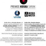 ¡Vota por el mejor directo de Bizkaia en los premios Koska Sariak!