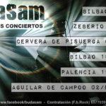 BudaSam confirma nuevos conciertos