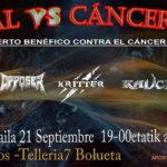 Horarios para el Metal vs Cáncer Fest