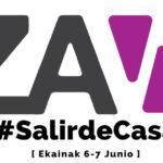 Falling Black en el #SalirdeCasa Fest del espacio ZWAP