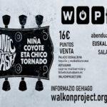 """""""X WOP FESTIVAL"""": Sonic Trash y Niña Coyote Eta Chico Tornado"""